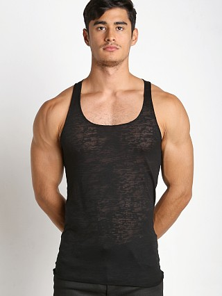 Complete the look: LASC Burn Out String Tank Black