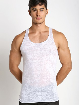 Complete the look: LASC Burn Out String Tank White