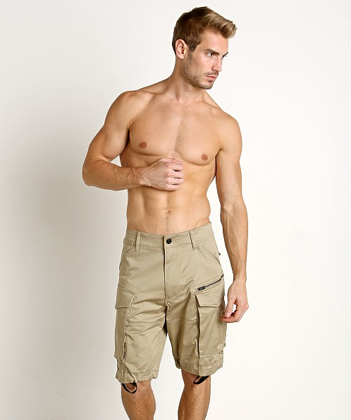 G-Star Rovic Loose Cargo Shorts Dune
