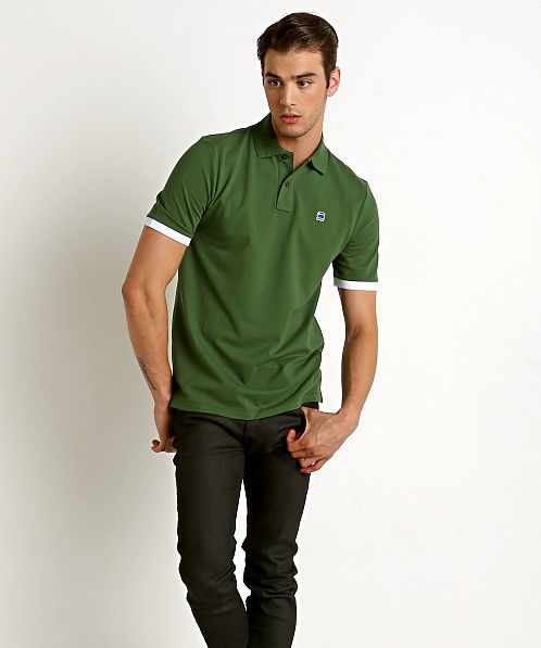 G-Star RC Core Polo Shirt Deep Nuri Green