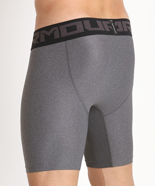 Under Armour 2.0 Mesh Front Compression Short Carbon