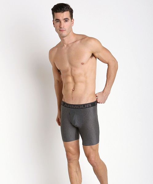 "Under Armour ""O"" Series 6"" Boxerjock Carbon Heather"