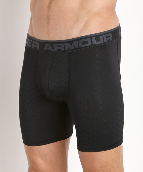 "Under Armour ""O"" Series Vented 6"" Boxerjock Black"