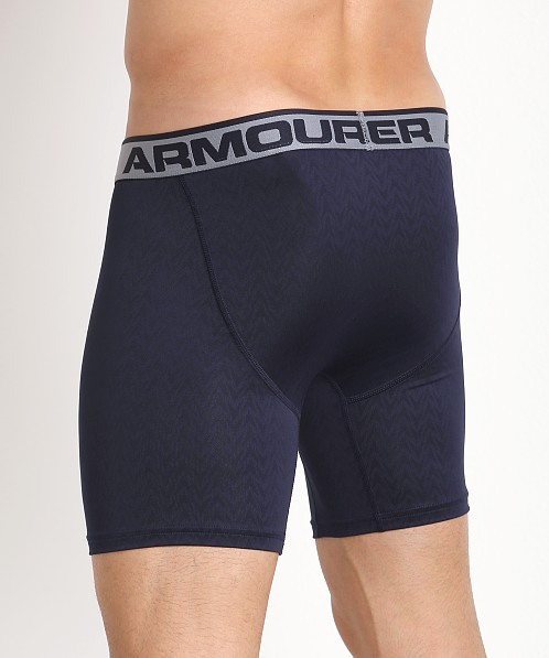 "Under Armour ""O"" Series Vented 6"" Boxerjock Midnight Navy"