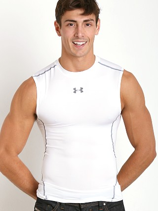 You may also like: Under Armour Heatgear Sleeveless Compression Muscle Tee White