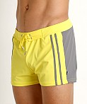 Sauvage Moderno Two-Tone Swim Trunk Yellow/Grey, view 3