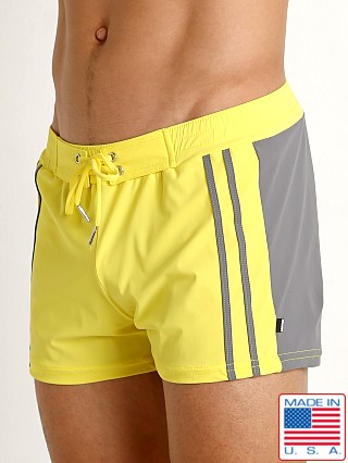 Sauvage Moderno Two-Tone Swim Trunk Yellow/Grey