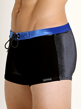 You may also like: Sauvage Velvet Riviera Swim Trunk Black/Royal