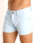 LASC Corduroy 5-Pocket Short Shorts Baby Blue, view 3