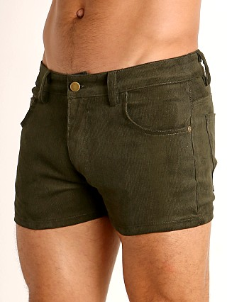 You may also like: LASC Corduroy 5-Pocket Short Shorts Army