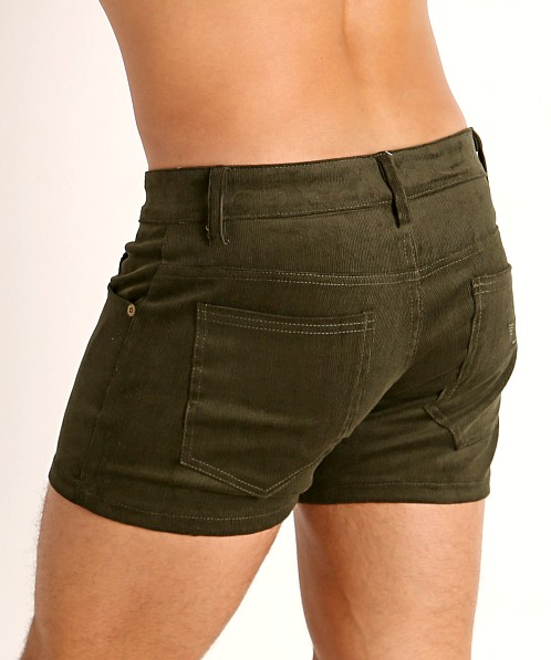 LASC Corduroy 5-Pocket Short Shorts Army