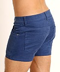 LASC Corduroy 5-Pocket Short Shorts Pacific, view 4