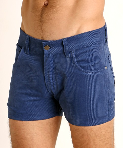 LASC Corduroy 5-Pocket Short Shorts Pacific