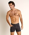 LASC Corduroy 5-Pocket Short Shorts Charcoal, view 2