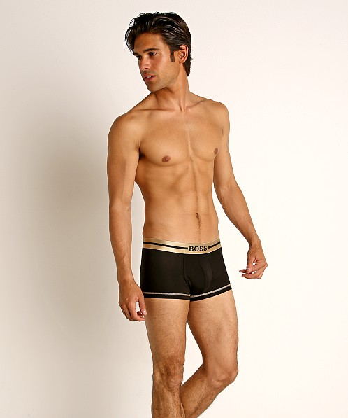 Hugo Boss Smooth Trunk Black