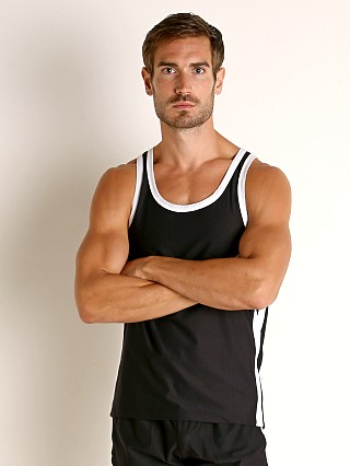 You may also like: LASC Performance Mesh Tank Top Black/White