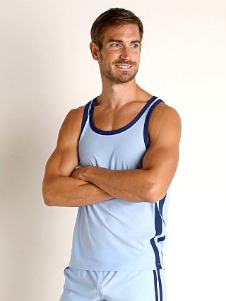 You may also like: LASC Performance Mesh Tank Top Baby Blue/Navy
