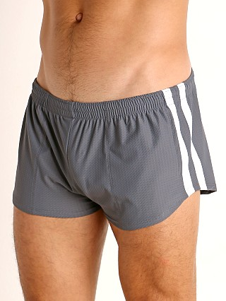 Complete the look: LASC Performance Mesh Running Shorts Grey/White