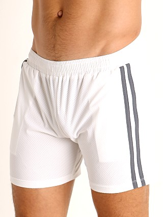 Complete the look: LASC Performance Mesh Active Shorts White/Grey