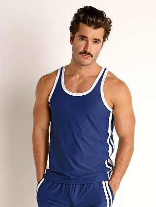 You may also like: LASC Performance Mesh Tank Top Navy/White