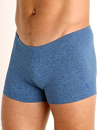 Complete the look: LASC Workout Micro Shorts Cobalt Heather