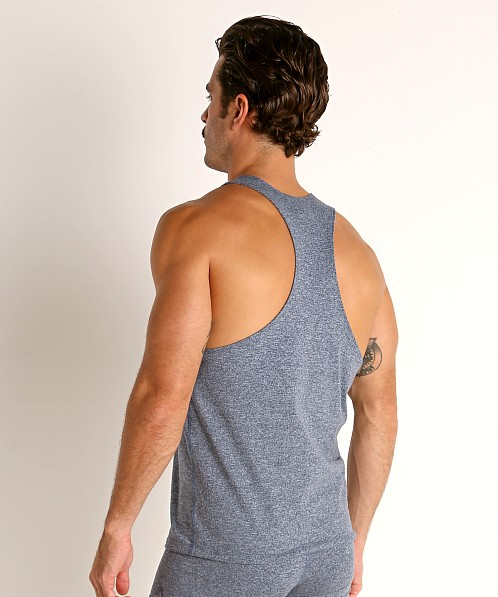 LASC Workout Tank Top Dark Blue Heather