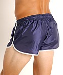 LASC Nylon Running Shorts Navy, view 4