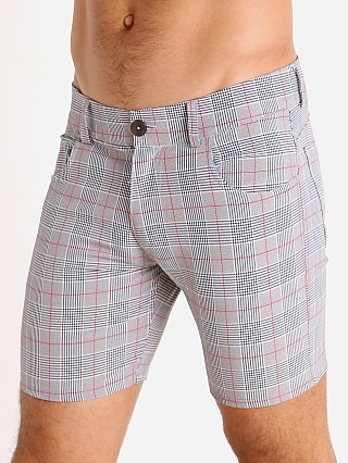 You may also like: LASC London Plaid 5-Pocket Shorts Grey/Red