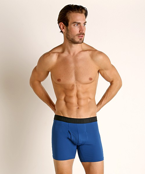 "Under Armour Microthread 6"" Boxerjock Mediterranean"
