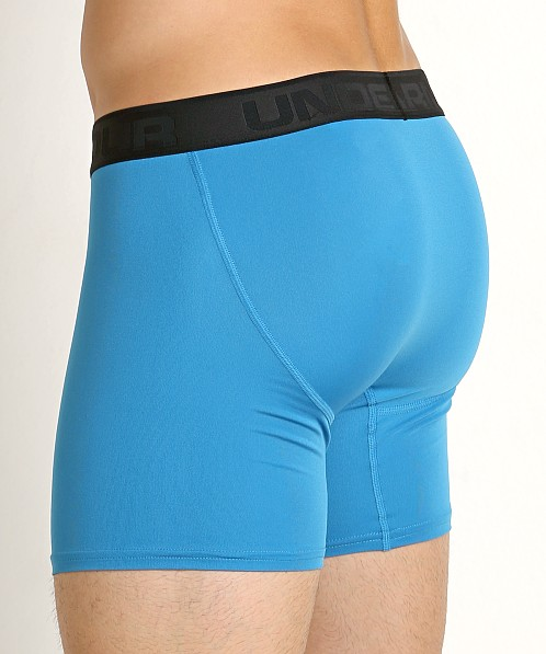 "Under Armour Microthread 6"" Boxerjock Studio Blue"