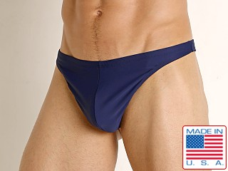 LASC Brazil Swim Thong Navy
