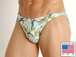 LASC Super Low Rise Swim Brief Lorekeets