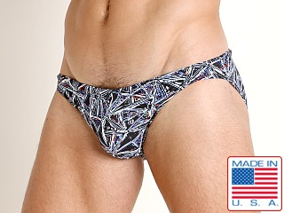 LASC St. Tropez Low Rise Swim Brief Prism