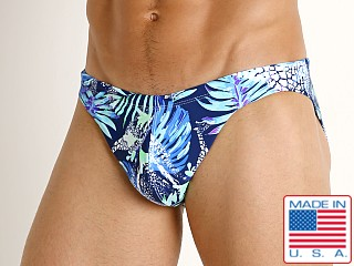 LASC St. Tropez Low Rise Swim Brief Giraffe