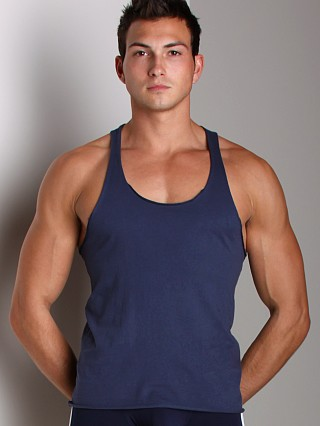 Complete the look: LASC Sixties String Tank Top Navy