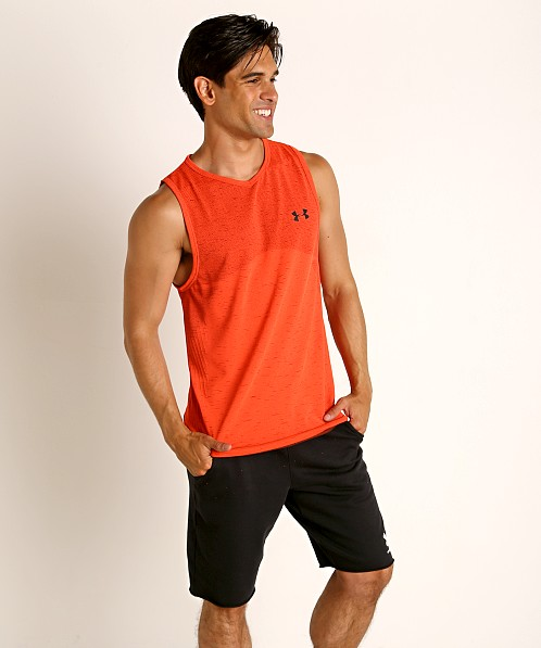 Under Armour Seamless Tank Top Beta/Black