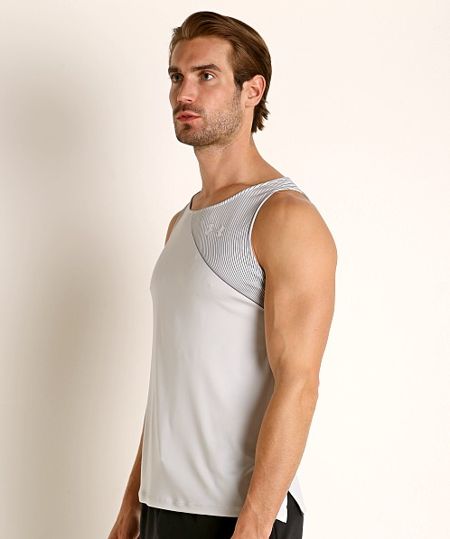 Under Armour Qualifier Iso-Chill Runner's Tank Top Halo Gray