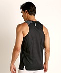 Under Armour Qualifier Iso-Chill Runner's Tank Top Black/Reflect, view 4