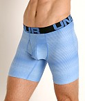 "Under Armour Tech Mesh Front 6"" Boxerjock Versa Blue/Black, view 3"