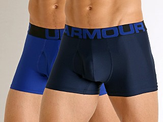 "Under Armour Tech Mesh Front 3"" Boxerjock 2-Pack Royal/Academy"