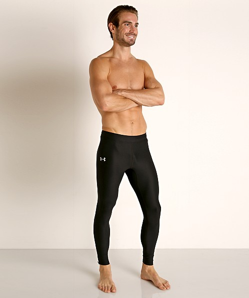 Under Armour Qualifier Heatgear Running Tight Black/Reflective