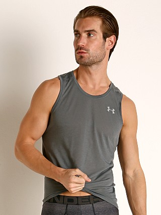 Under Armour Streaker 2.0 Running Tank Top Pitch Gray