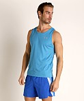 Under Armour Speed Stride Running Tank Top Ether Blue, view 2