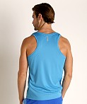 Under Armour Speed Stride Running Tank Top Ether Blue, view 4