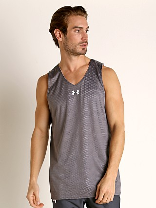 Under Armour Double Double Reversible Tank Top Graphite/White