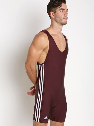 You may also like: Adidas 3 Stripe Wrestling Singlet Maroon/White