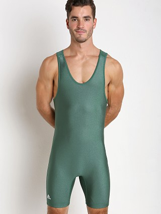 You may also like: Adidas Solid Wrestling Singlet Hunter Green