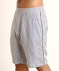 Sauvage Linen Resort Shorts Denim Heather, view 3