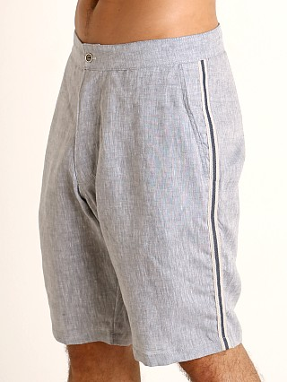 You may also like: Sauvage Linen Resort Shorts Denim Heather