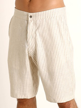 You may also like: Sauvage Linen Resort Shorts Cream Stripe
